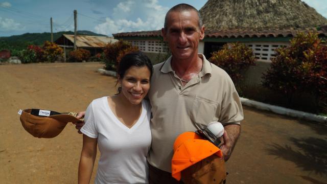 WRAL's Leyla Santiago met with a Cuban farmer.