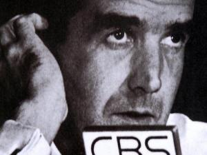 Edward R. Murrow, the legendary CBS newsman, was born in a small Guilford County community as Egbert Roscoe Murrow.