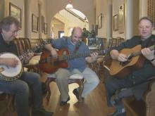 Swiss brothers, New Yorker form admired bluegrass band