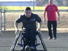 Kenly wheelchair athlete on gold medal roll