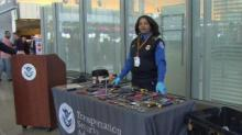 IMAGE: Guns, pepper spray, hammers among confiscated items at RDU