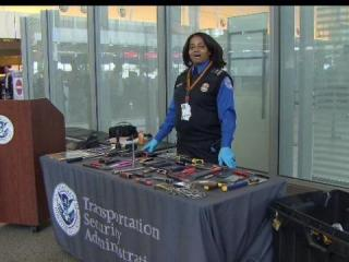 Stun guns, grenades, brass knuckles and martial arts tools are just a few items TSA agents have stopped at Raleigh-Durham International Airport security checkpoints.