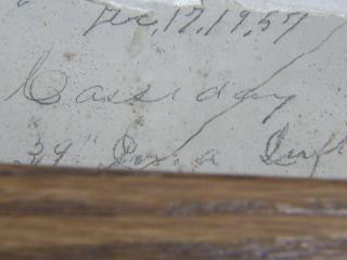 The Old Laurel Hill Presbyterian Church is the oldest church in Scotland County and was once used as a hideout for Civil War soldiers who left messages behind in the plaster.