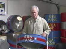 Musician hammers out career with steel drums