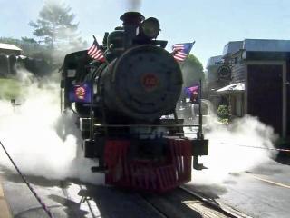 'Singing Cowboy' once owned Tweetsie Railroad train