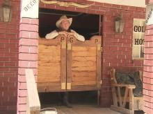 Johnston County cowboy builds western town
