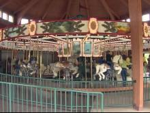 '6,000 hours of love' restored Shelby carousel