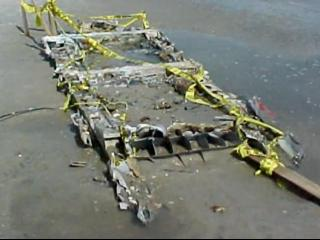 Wreckage of WWII plane remained on NC beach for decades