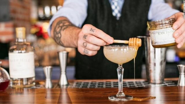Deeper into the countryside is Caledonia Spirits, a distillery that grew from a beekeeper's efforts to make spirits using his raw, organic honey.