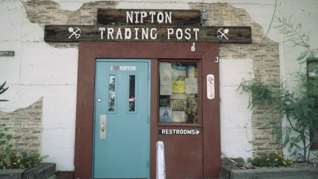 Visitors to Nipton can learn more about the small town at the Trading Post.