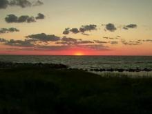 Ocracoke Island enjoys 'breathtaking' sunset