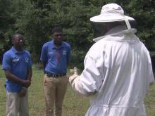 'King Bee' tends to the young in Edgecombe County