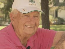 Putting green dedicated to 100-year-old golfer