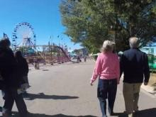 Couple revisits spot they met at NC State Fair decades later
