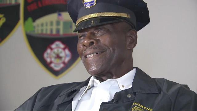 Jacksonville officer may be oldest on duty in country :: WRAL com