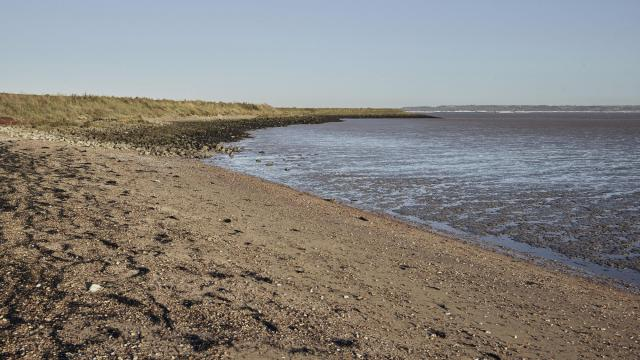 Egypt Bay on the Hoo Peninsula in England, Oct. 23, 2018. Dickens began his novel in the marshes of the Hoo Peninsula, about 25 miles from London. More than 150 years later, a traveler retraces the path of that book's indelible characters. (Tom Jamieson/The New York Times)