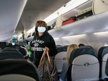 How to Disinfect Your Space on an Airplane