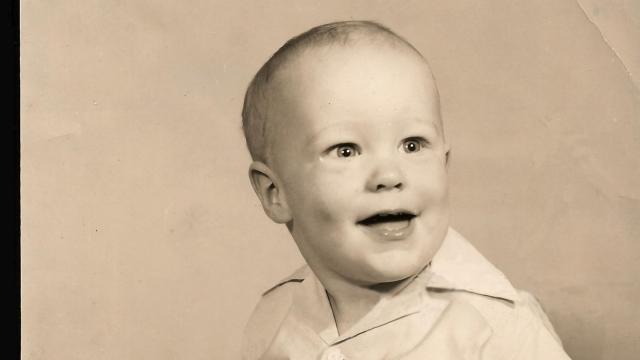 Bill Leslie at 18 months