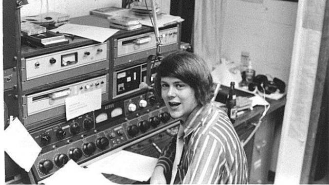 College-age Bill Leslie