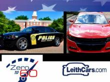 Civilian Dodge Charge vs. Police Dodge Charger