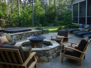 Outdoor living spaces, photo courtesy of db designs