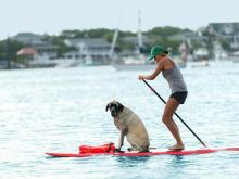 Wrightsville Beach paddle boarding