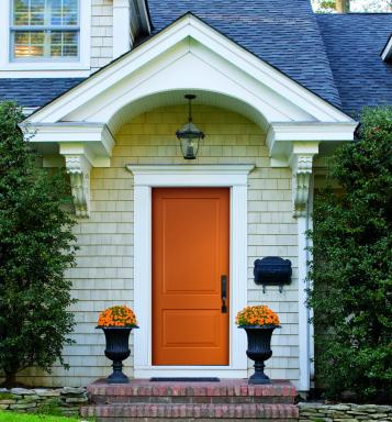The right door not only has the power to enhance curb appeal, it allows homeowners to express their unique personality.