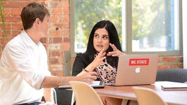 While one aim of N.C. State's Entrepreneurship Clinic is to train students to be entrepreneurial thinkers, the other main objective is to run a successful clinic that solves real problems for their clients.