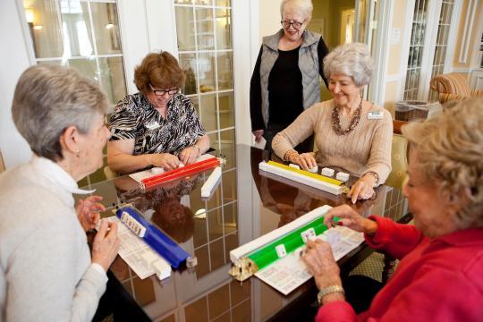 Galloway Ridge : Spotlight : Mahjong