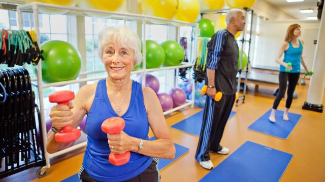 The Duke Center for Living at Fearrington encourages both physical and mental exercise to help keep the body and brain well. (Photo Courtesy of Galloway Ridge)
