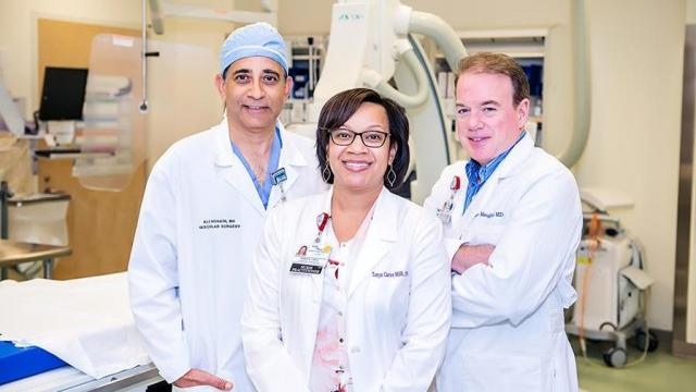 With the support of local cardiologists and cardiac surgeons, the Valve Clinic was created to simplify the road to surgery. (Photo Courtesy of Cape Fear Valley Health)