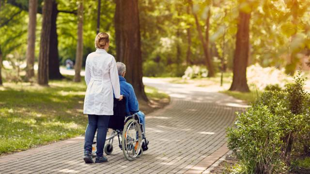Hospice care is for patients who have been diagnosed with a terminal illness and whom physicians estimate have about six months or less to live if the illness runs its natural course. (luckybusiness/Big Stock Photo)