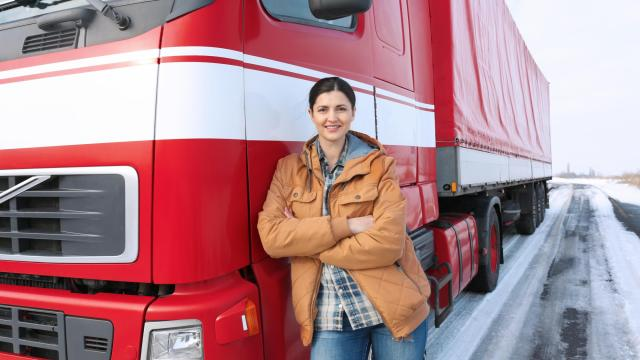 Beaufort County Community College's Director of Industry Training, Justin Rose, noted within the last two years the college has seen a great increase in the number of women in the college's Commercial Truck Driving course. (Photo Courtesy of Yastremska/Bigstock)