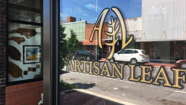 Artisan Leaf celebrated the grand opening of its storefront in downtown Wilson in June 2018. (Photo Courtesy of Reggie Harrison, Artisan Leaf)