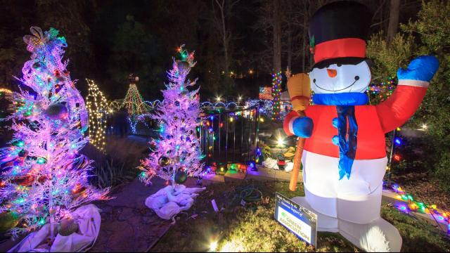 Holiday Cheer Lights Up Downtown Wilson Wral Com