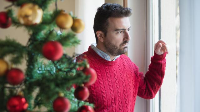 For those suffering with post-traumatic stress disorder, social events, loud noises and other things related to the holidays can be overwhelming at the least and triggering at the worst. (tommaso79/Big Stock Photo)
