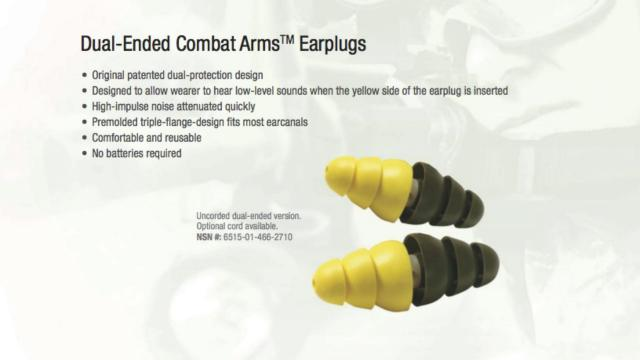 Whitley Law Firm : Spotlight : Dual-Ended Combat Arms Earplugs Defect