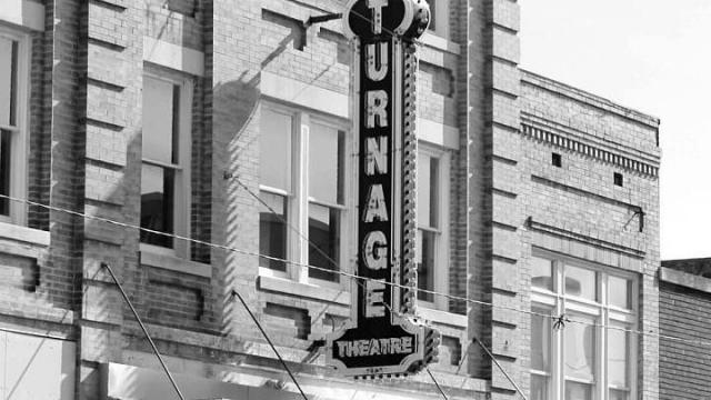 The historic Turnage Theater in downtown Little Washington is now home to ARTS of the Pamlico. (Photo Courtesy of Washington Tourism Development Authority)