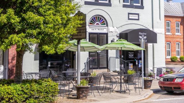 Downtown Washington, N.C., is home to Rachel K's Bakery. (Photo Courtesy of Washington Tourism Development Authority)