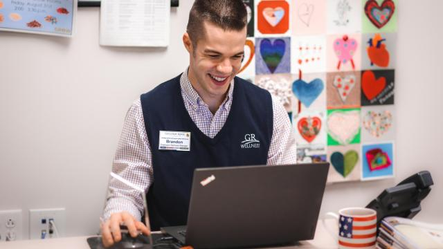 Many of Galloway Ridge's current employees are millennials, which is reflective of the population's growing presence in the workforce at large. (Photo courtesy of Galloway Ridge)
