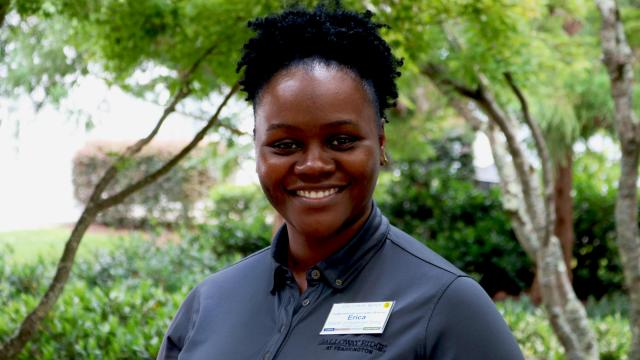 Erica Rone is the director of healthcare dining at Galloway Ridge and the 2018 recipient of the Galloway Ridge Spirit Award. (Photo courtesy of Galloway Ridge)
