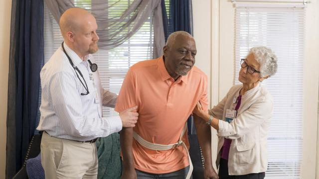 Many patients and their families have turned to palliative care to relieve symptoms, improve quality of life, and offer support. (Photo Courtesy of Transitions LifeCare)
