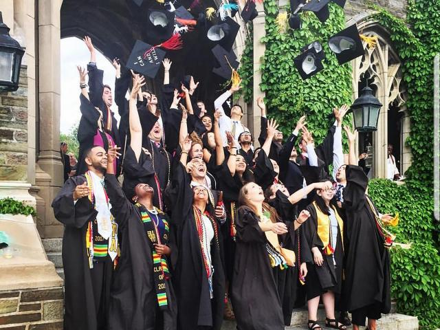 IB diploma students are typically accepted to prestigious colleges at twice the rate of other students. (Photo Courtesy of the Montessori School of Raleigh)