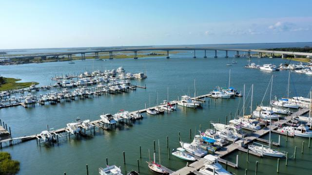 The ease of travel, in addition to the time savings, will make Carteret County attractive to tourists who want to spend a week, a weekend or even a day at the Crystal Coast. (Photo Courtesy of the Crystal Coast Economic Development Foundation)