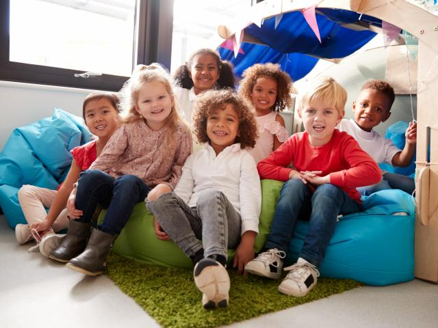 """""""The children are the easy part,"""" said Lores family of fostering. """"Despite all the complications and the trauma that they have experienced, you wake up with these little faces who love you. It's amazing to look into those little faces."""" (monkeybusinessimages/Big Stock Photo)"""