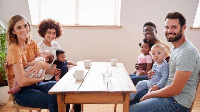 When circumstances allow, foster parents should make a concerted effort to build a relationship with the foster child's biological parents. (monkeybusinessimages/Big Stock Photo)