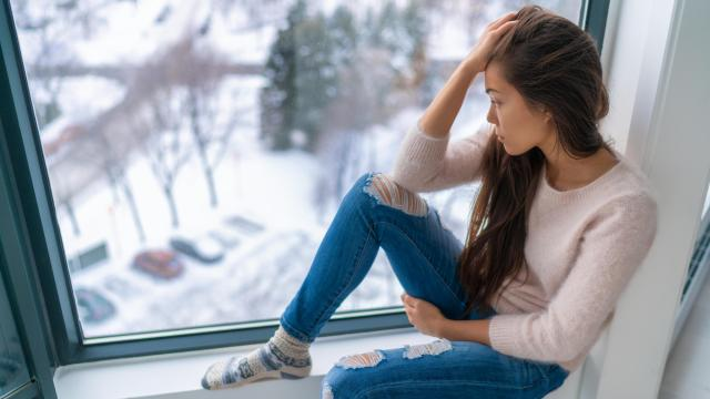 """Depression is more than just a bout of the blues and """"is a mood disorder that causes a persistent feeling of sadness and loss of interest."""" (Maridav/Big Stock Photo)"""