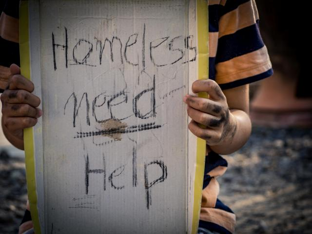 Chronically homeless individuals are people living with a disability who have experienced homelessness continually for one year or more, or who have at least four episodes of homelessness in the last three years that total 365 days or more. (Morakod1977/Big Stock Photo)