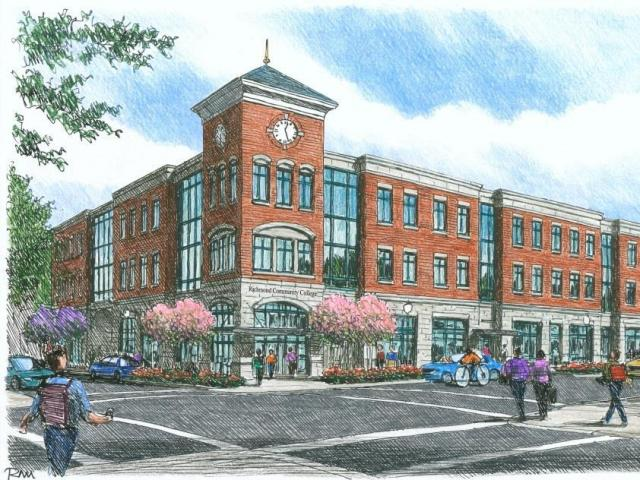 Rockingham is making infrastructure investments to revitalize its downtown district, announcing a $14 million project last year. The project is funding the construction of a new satellite campus for Richmond Community College, and is a collaborative effort between RCC, Richmond County and Rockingham. (Image Courtesy of the North Carolina League of Municipalities)