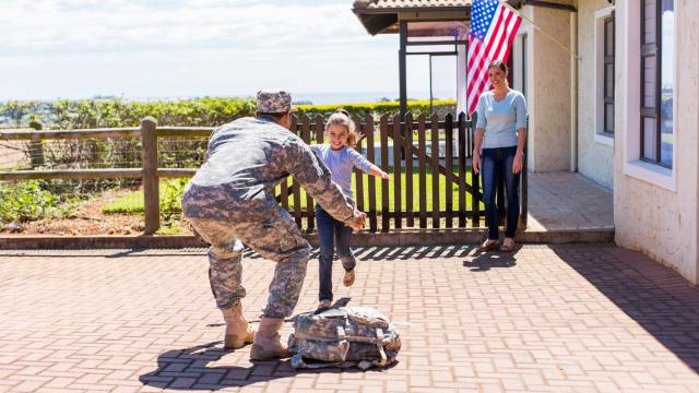 So much happens when a loved one leaves home for active duty -- their return home can be both a joyous occasion and a transition. A medical expert offers advice on how to navigate this sometimes challenging time. (michaeljung/Big Sock Photo)